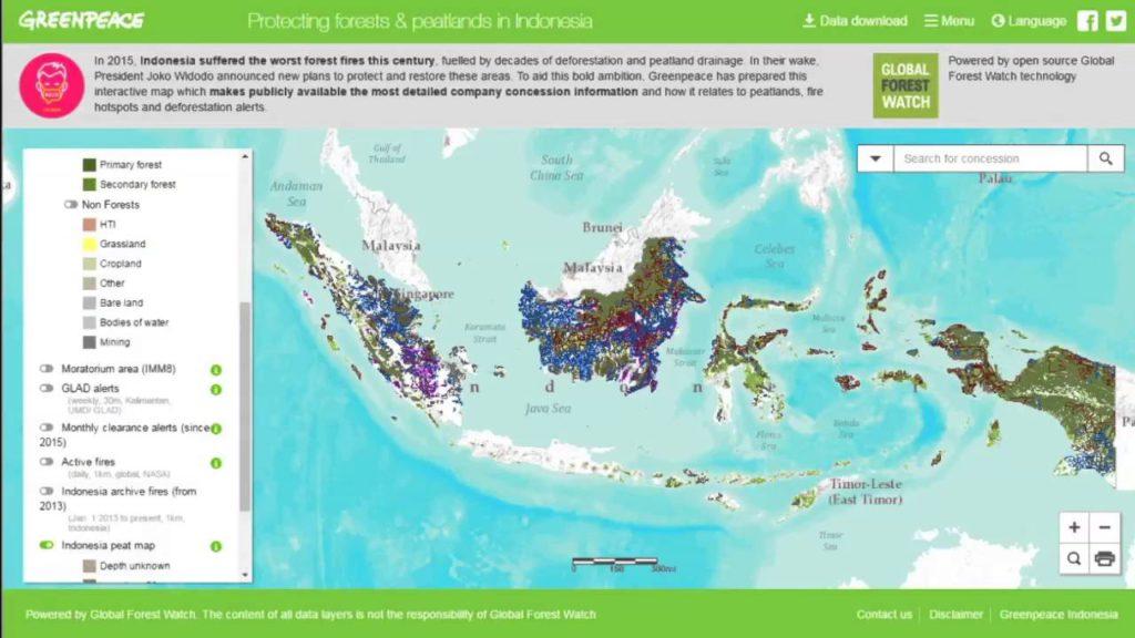 Kepo Hutan Map